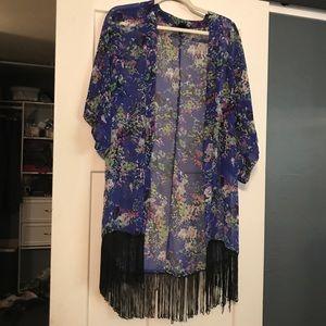 Floral Kimono - OS